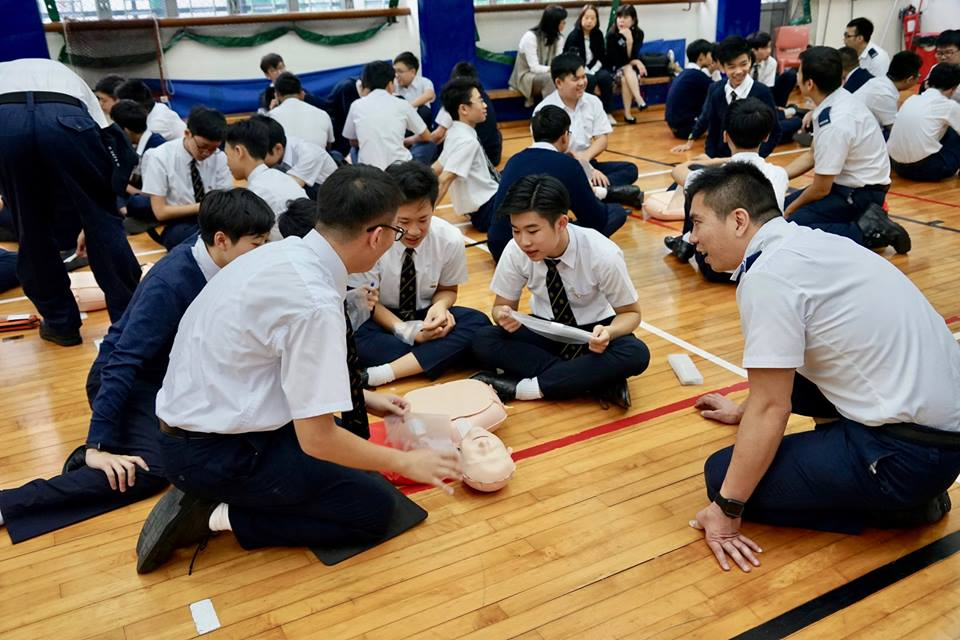 Cardiopulmonary Resuscitation (CPR) On-campus Training Programme